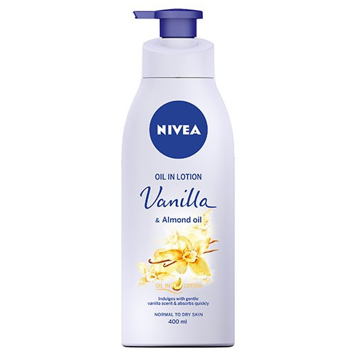 NIVEA Oil Infused Lotion Vanilla & Almond Oil