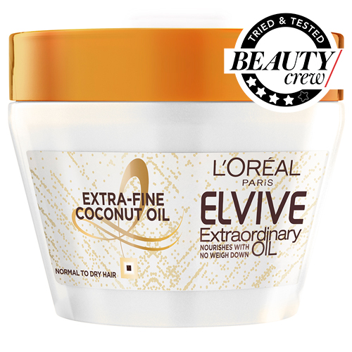 L Oreal Paris Elvive Extraordinary Oil Coconut Hair Mask Review Beauty Crew