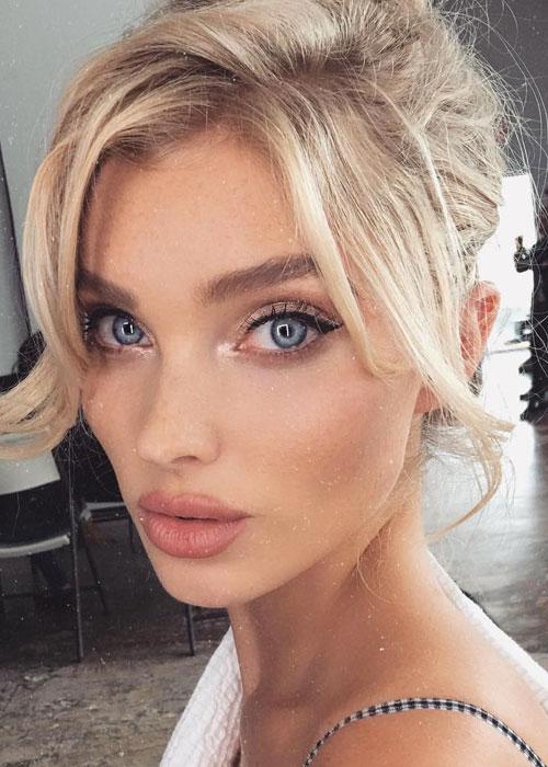 Victorias Secret Angel Elsa Hosks Eyeshadow Trick Beautycrew