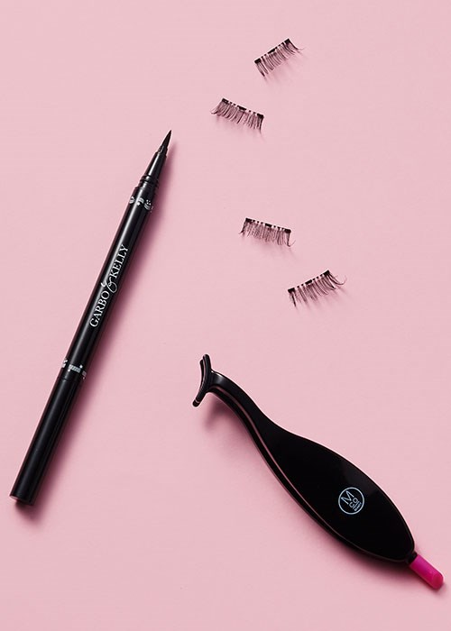 Magnetic lashes tutorial tool kit
