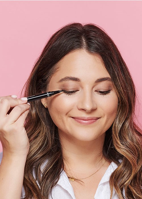 magnetic lashes how to, apply liquid liner