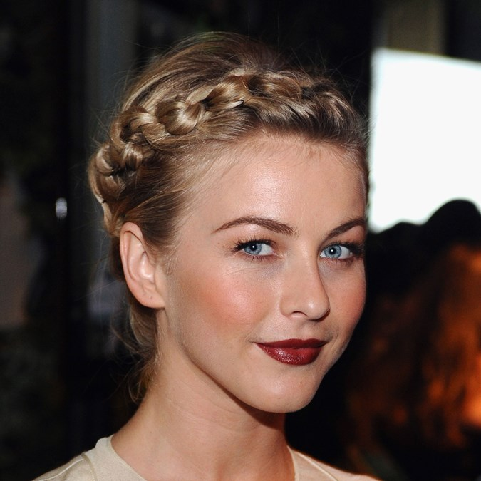 Julianne Hough braided crown