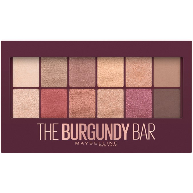 Maybelline New York The Burgundy Bar Eyeshadow Palette