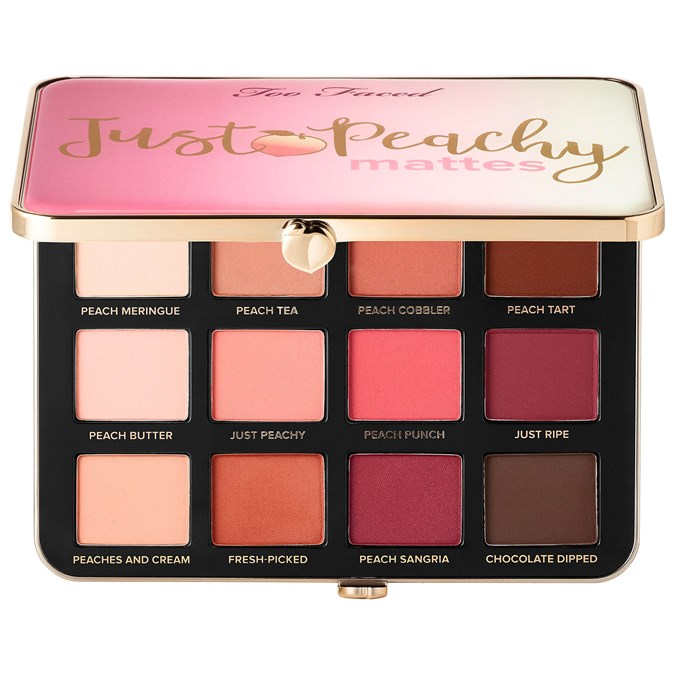 Too Faced Just Peachy Velvet Mattes Eyeshadow Palette