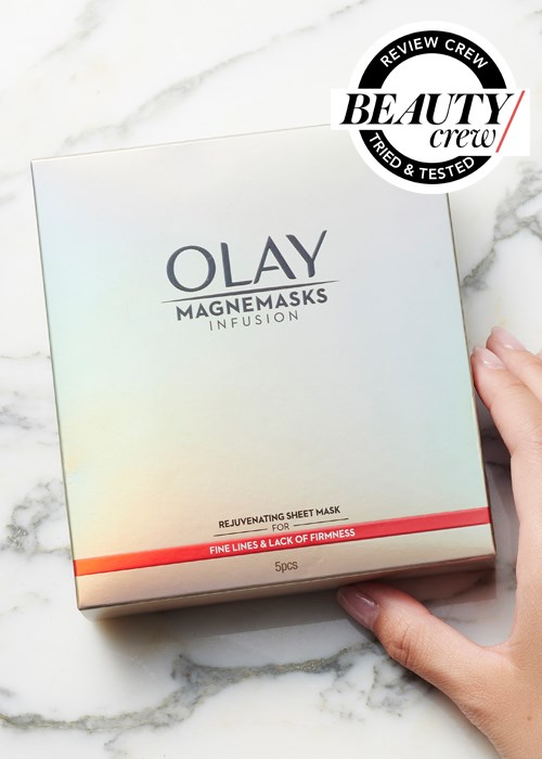 Olay Magnemask Rejuvenating Sheet Mask