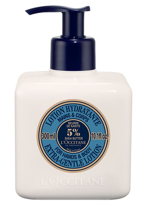 L'Occitane's Shea Butter Extra Gentle Lotion for Hands & Body