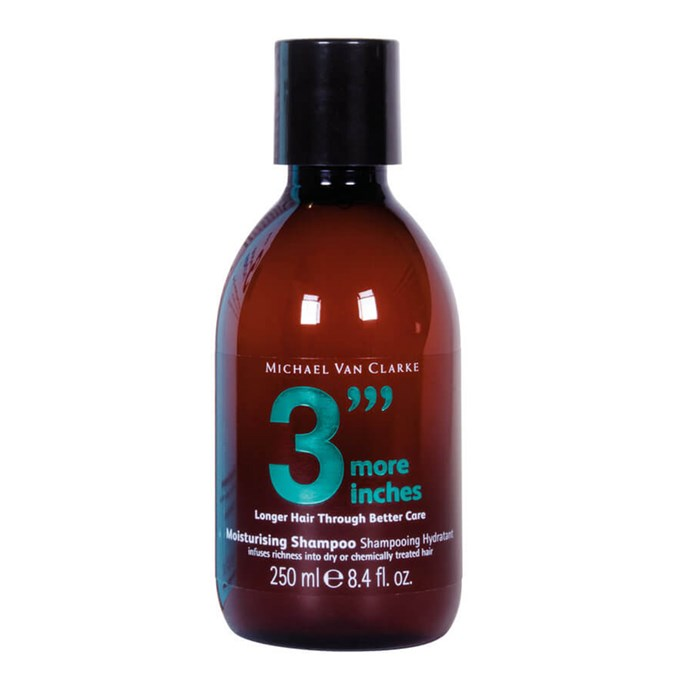"3""More Inches Moisturising Shampoo"