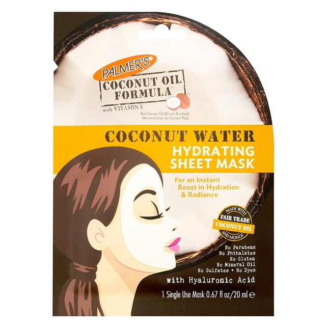 Palmer's Coconut Oil Formula Coconut Water Hydrating Facial Sheet Mask