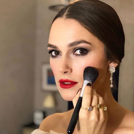 Keira Knightley Makeup Red Lipstick