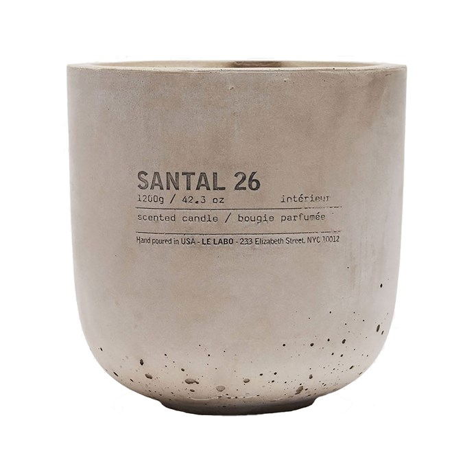 Le Labo Santal 26 Concrete Candle