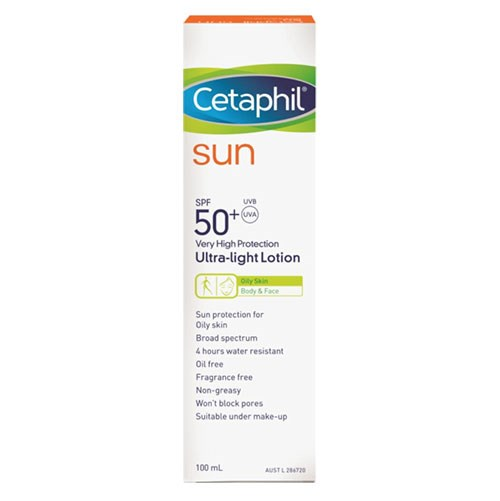 Cetaphil Sun SPF50+ Ultra-Light Lotion
