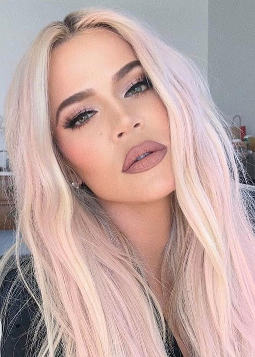 The 15 Product Behind Khloe Kardashian S Pink Hair Beauty Crew