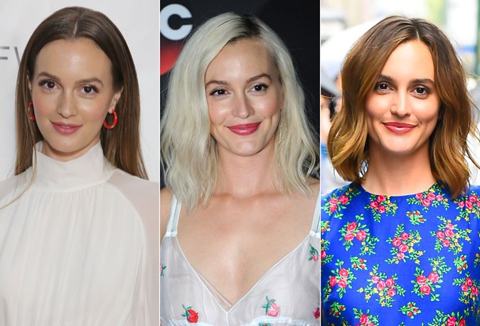 Lieghton Meester Hair transformation 2018