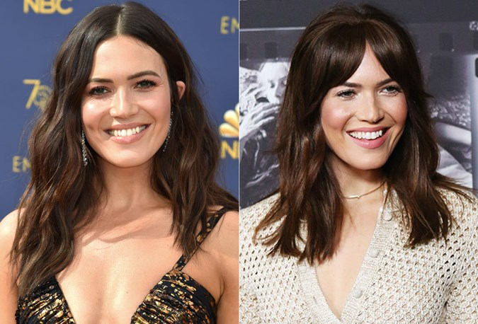 Mandy moore Hair transformation 2018