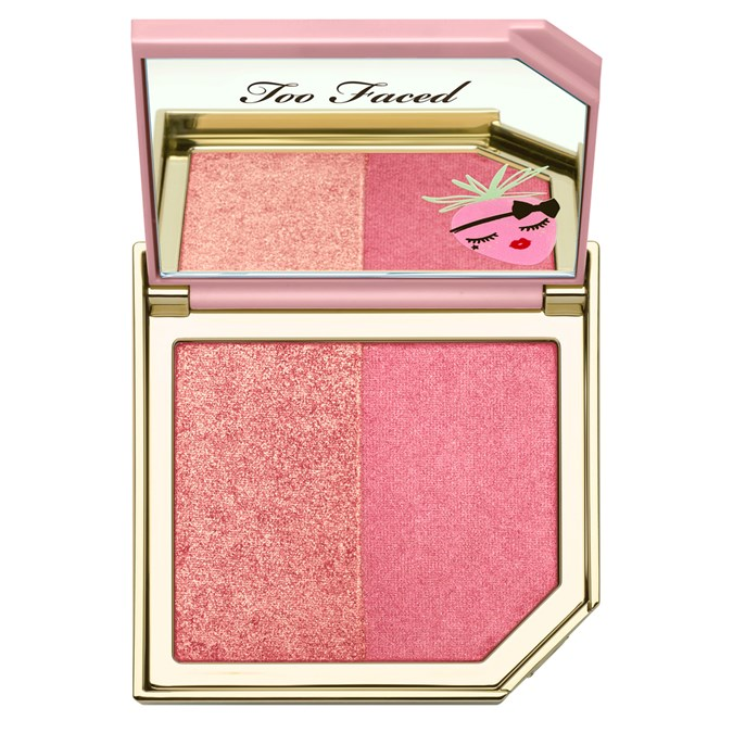 Too Faced Fruit Cocktail Blush Duo in StrobeBerry