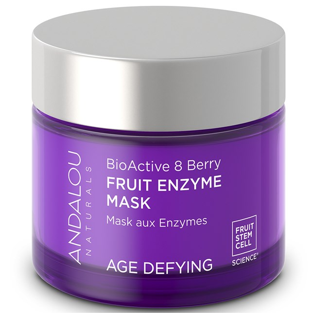 Andalou Naturals Age Defying BioActive 8 Berry Enzyme Mask