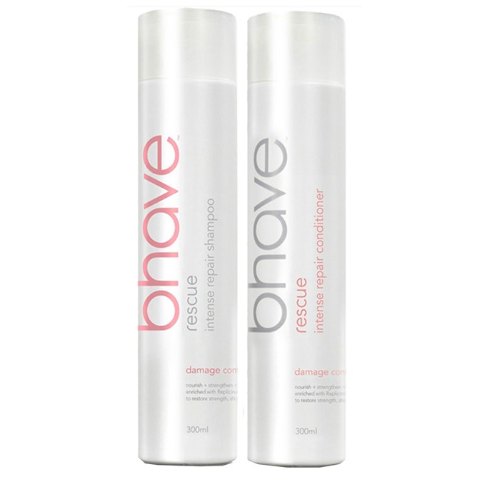 Bhave Rescue Intense Repair Shampoo and Conditioner