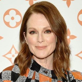 Julianne Moore's youthful complexion