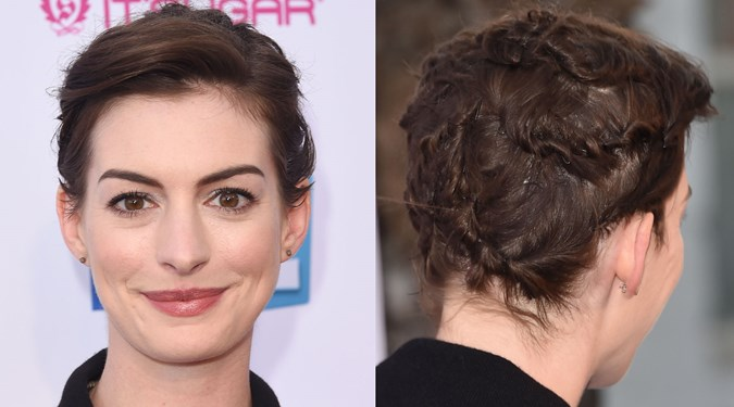 Easy Hairstyles for Short Hair - Anne Hathaway