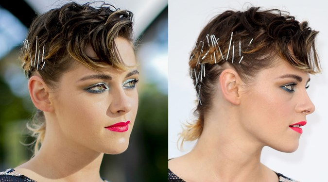 Easy Hairstyles for Short Hair - Kristen Stewart
