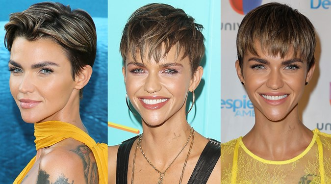 Easy Hairstyles for Short Hair - Ruby Rose