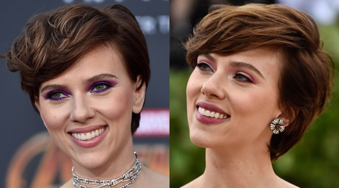 Easy Hairstyles for Short Hair - Scarlett Johansson