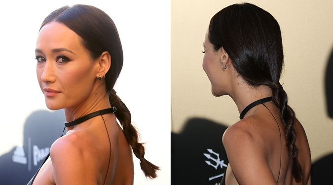 Maggie Q Hairstyle: Cute Easy Hairstyles