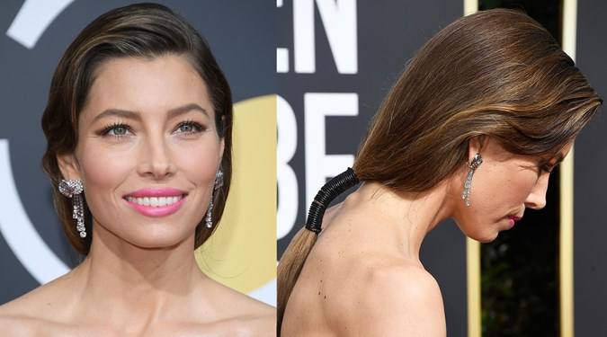 Cute Easy Hairstyles - Jessica Biel