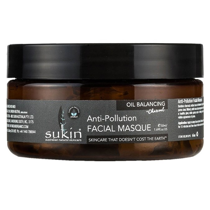 Sukin Oil Balancing Plus Charcoal Anti-Pollution Facial Masque