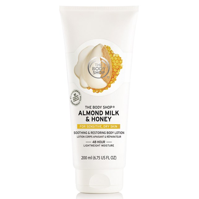 The Body Shop Almond Milk & Honey Soothing & Restoring Body Lotion