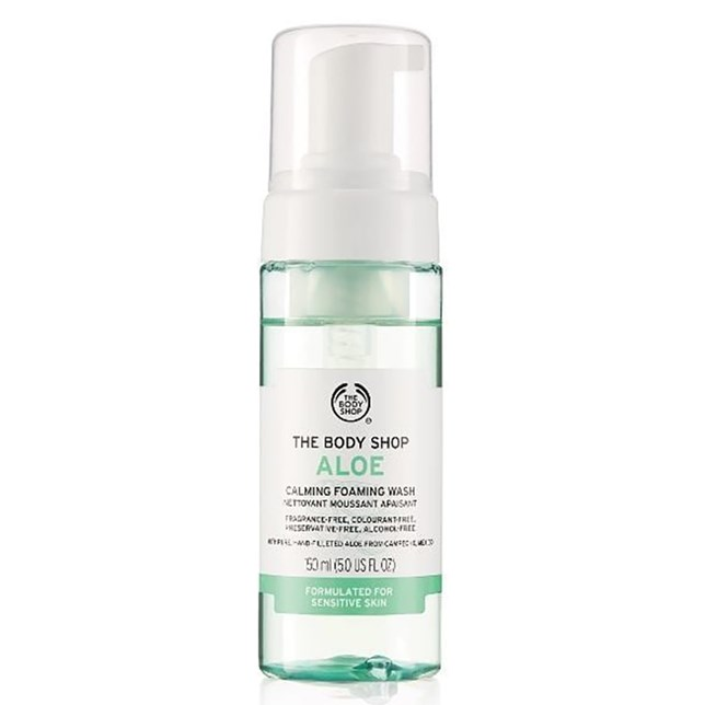 The Body Shop Aloe Calming Foaming Wash