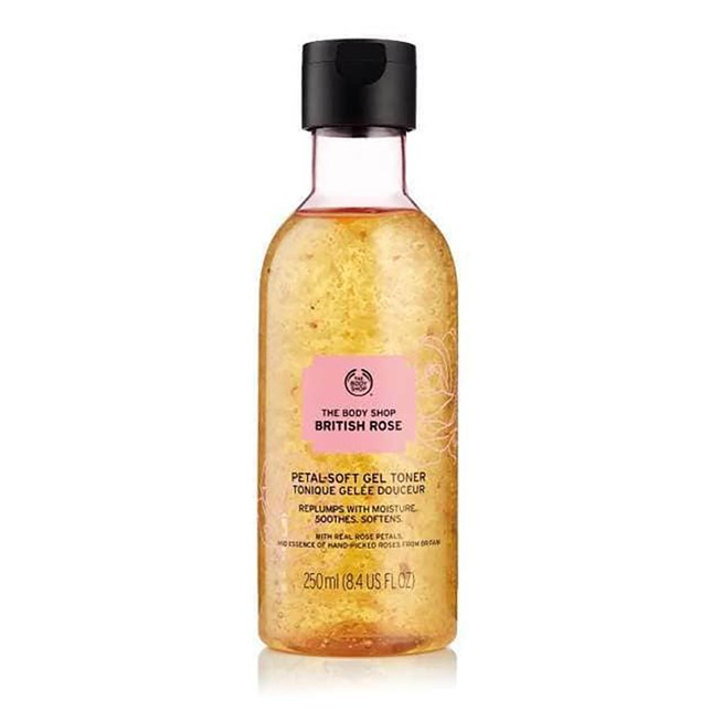 The Body Shop British Rose Petal-Soft Gel Toner