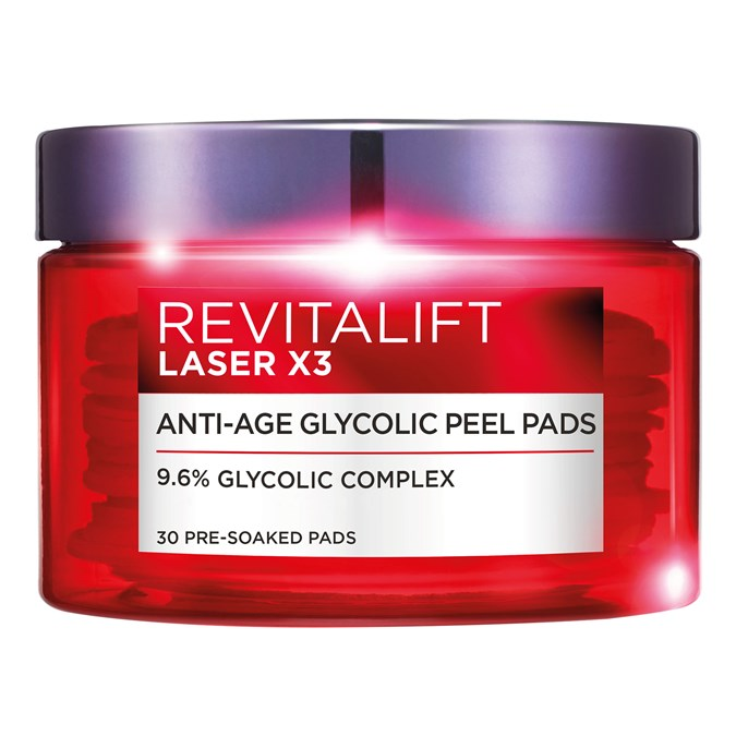 L'Oreal-Paris-Revitalift-Laser-Renew-Anti-Ageing-Glycolic-Peel-Pads