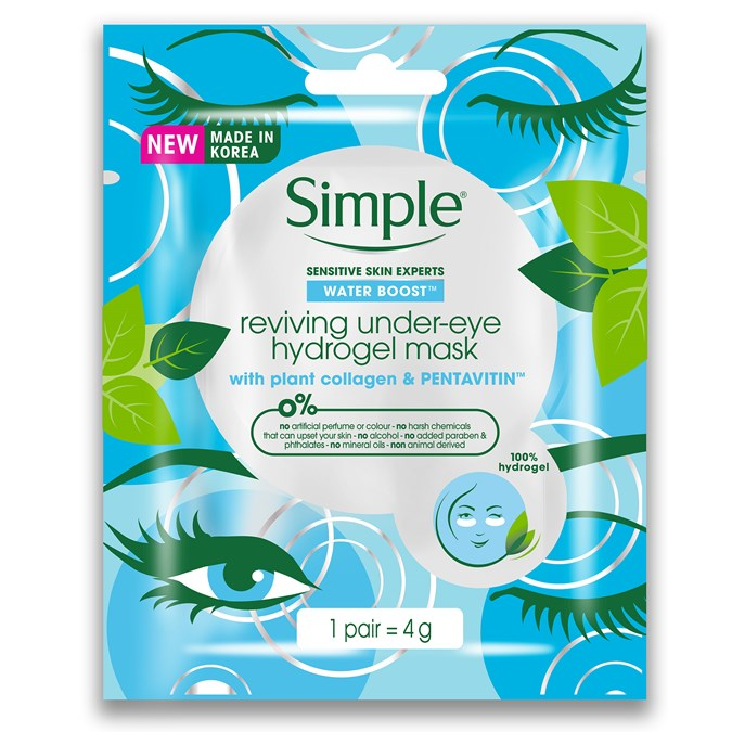 Simple Reviving Under-Eye Hydrogel Mask