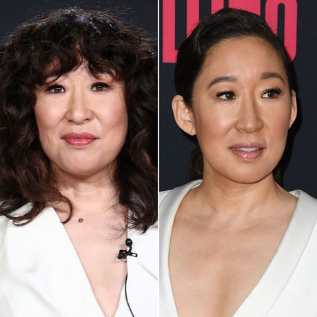 sandra oh how to hide a fringe