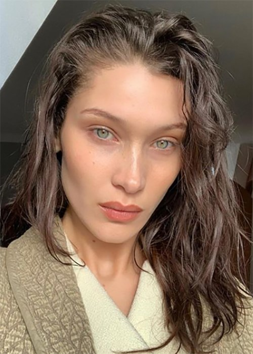 Bella Hadid Wants To Know The Right Way To Wear Under-Eye Patches