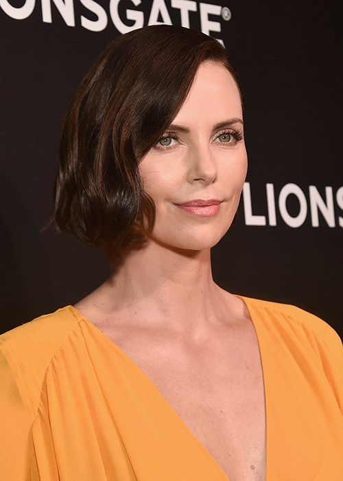 Charlize Theron Debuted Another Dramatic New Hairstyle