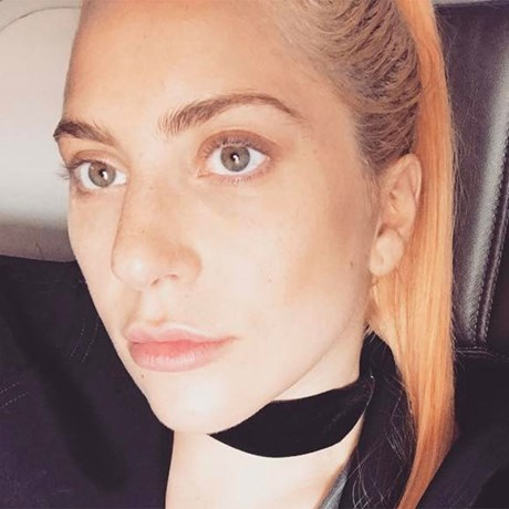 Celebs Without Makeup Photos - Lady Gaga