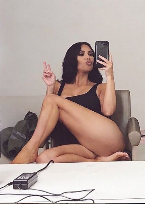 Kim Kardashian's Secret Butt Toning Trick