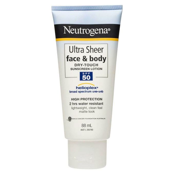 Neutrogena Ultra Sheer Face & Body Dry Touch Sunscreen Lotion