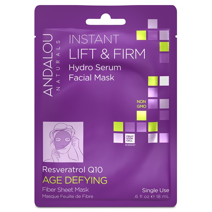 Andalou Naturals Instant Lift & Firm Hydro Serum Facial Sheet Mask