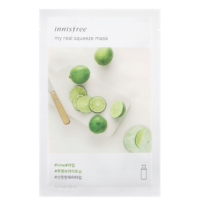 Innisfree My Real Squeeze Mask [Lime]