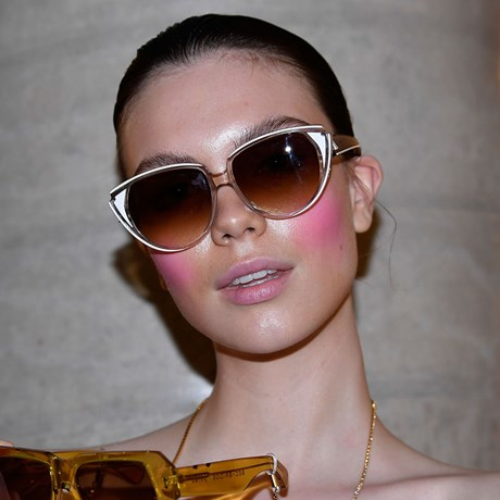 MBFWA New Way To Wear Blush