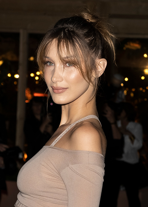 Bella Hadid S Latest Holiday Hairstyle Is So Easy To Copy Beauty Crew