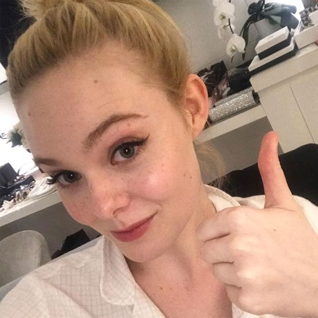 Best Toner For Dry Skin - Elle Fanning