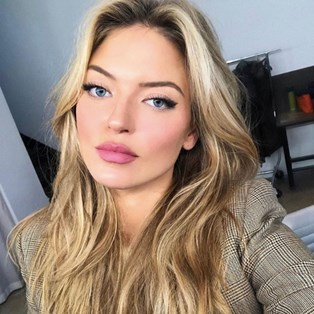 Martha Hunt's Latest Red Carpet Look Is Absolute Hair Goals