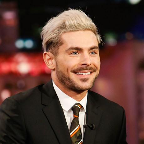 Zac Efron bleached hair