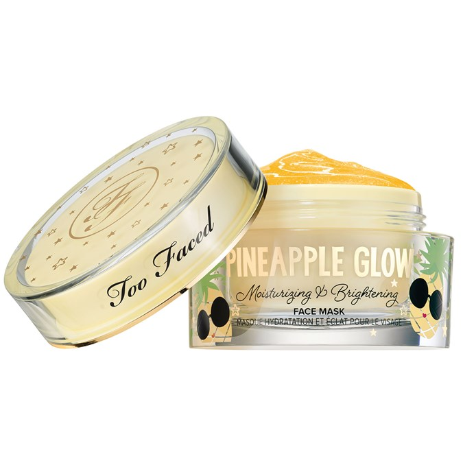 Too Faced Pineapple Glow Moisturising And Brightening Face Mask
