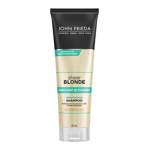 John Frieda Sheer Blonde Highlight Activating Moisturising Shampoo