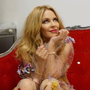 Kylie Minogue Has Launched The Most Sparkly Makeup Range And We Love It